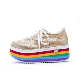 Zapatillas Sneakers Mujer Urbanas Plataforma Moda 2018 Full