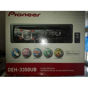 Reproductor De Carro Pioneer Con Usb, Cd, Mp3 Y Rds Receiver