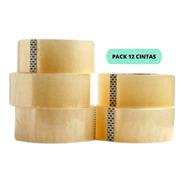 Cintas De Embalaje 12 Unidades Transparente  / Cart Paper
