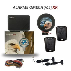 Alarme Omega 7 Mod. 7025 2 Controles+sirene Completo