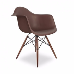 Silla Rep Eames Con Codera En Distintos Colores