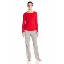 Calvin Klein Pijama Dormir Mujer Mediana Original Frio