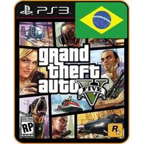 Gta 5 - Grand Theft Auto V Psn Ps3 Receba Hoje