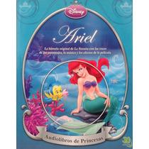 Ariel Audiolibro Con Cuento Princesas Disney La Sirenita