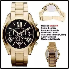 8439cd6b49c Lindo Relógio Feminino Dourado Marca Mulher Funda Gatinha Masculino ...