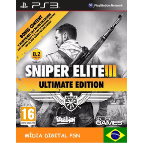 Sniper Elite 3 Ultimate Edition Psn Ps3 Promoção