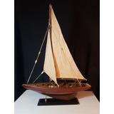 Velero Madera Miniatura - Decorativo Barco Escala