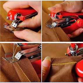 Mini Máquina De Costura Portátil Tecidos Manual