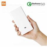 Xiaomi Power Bank Bateria Externa 20000 Mah Carga Rapida 3.0