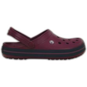 Zapato Crocs Dama Crocband Ciruela