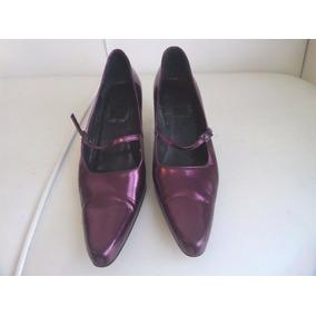 Sapato Christian Dior Social Original Cor Lilás