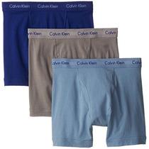 Calvin Klein Hombres Ropa Interior 3 Pack Algodón Stretch Bo