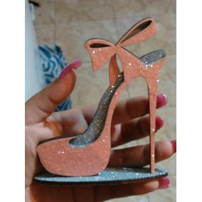 Zapato Brillante Souvenirs Económicos 15 50 Años Dama Oferta
