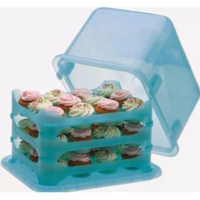 Porta Cupcakes Pasteles Quequitos Quecos 36 Espacios!!