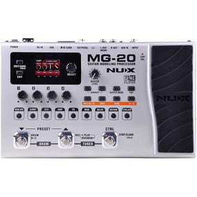 Mg-20 Nux Procesador Pedalera Multiefectos Para Guitarra