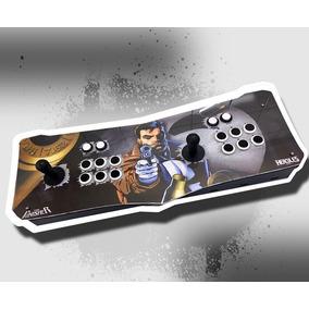 Fliperama Portatil Controle Arcade Digital Hercules Games