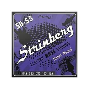Encordoamento Strinberg Contra Baixo 5 Cordas Sb-55 0.45