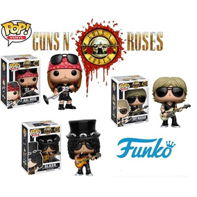 Funko Pop! Guns N Roses Axl Rose, Duff Mckagan E Slash