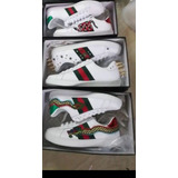 Zapatillas Gucci Con Bordado Fotos Reales- Oferta!!