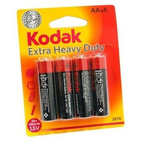 48 Pilhas De Zinco Aa Shrink-extra Heavy Duty Kodak
