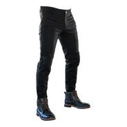 Pantalon Jean Brooklyn Denim Protecciones + Kevlar Motodelta