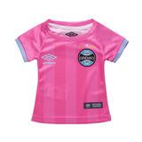 Camiseta Infantil Umbro Grêmio Outubro Rosa 3g160306 | Katy
