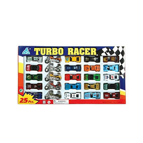 Rhode Island Novelty Turbo Racer Die Cast Coche Y La Motocic
