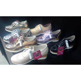 Zapatos Oxford Niñas Pavitas Originales. Mod. Oxfj04