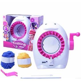 Máquina Para Fazer Tricô De Verdade Para Crianças E Adultos