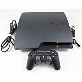 Playstation Ps3 Slim 160 Gb + 5 Jogos + 2 Controles