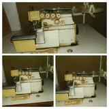 Vendo Máquina Industrial Interlook Siruba Para Tecidos Pesad