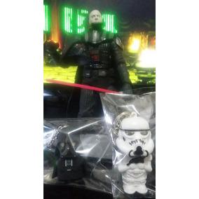 Coleção Disney Star Wars Darth Vader + 2 Chaveiro Ação