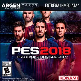 Pro Evolution Soccer 2018 Pes 18 Steam Key Entrega Inmediata