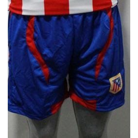 Short De Fútbol Escudo Bordado Todos Los Equipos