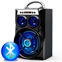 Super Caixa De Som Bluetooth 2.1 15w Usb Cartão Sd Aux E13