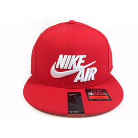 Boné Nike Air Vermelho Logo Bordado Original