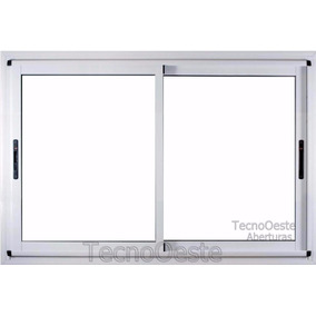 Ventanal Aluminio Módena Doble Vidrio 240x150 Dvh 4/9/4