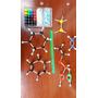 Kit Molecular Mini, Química Orgánica 55 Átomos + 64 Enlaces