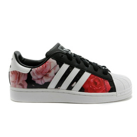 adidas superstar mujer floral
