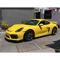 Porsche Cayman Gt4 Año:2016