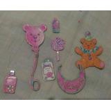 Lote Antigo De Brinquedos De Papelão Bebê Da Barbie