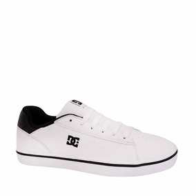 Tenis Choclo Comodo dc Shoes Blanco Sintetico Im432