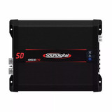 Amplificador Soundigital 4000.1d Rms 4000watt Evo Black 1ohm