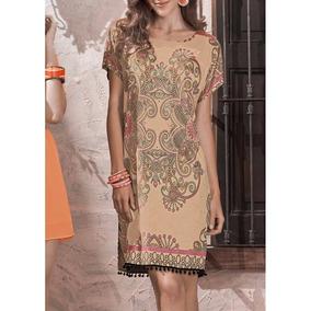 - Vestido Andrea Con Hombros Prolongados Tipo Kimono 1269291