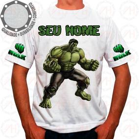 Camiseta O Incrível Hulk Camisa Ah00698