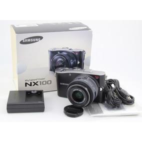 Samsung Nx100 Con Lente 20-50 Excelente !!!