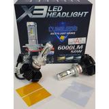 Led X3 12000 Lumens H4 H7 H11 H13 H16 9004 9005 9006 9007