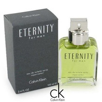 Perfume Eternity Masculino 100ml Calvin Klein 100% Original.