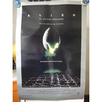 Poster Original Alien Sigourney Weaver Ridley Scott 2004