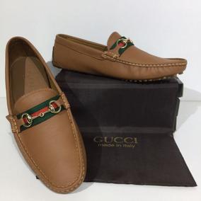 Zapatos Hombre Gucci - Mocasines y Náuticos Naranja oscuro en ... 2c1e91a2ea0